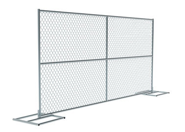 Outdoor Event Temporary Mesh Fence Panels , Portable Temporary Fence Panels