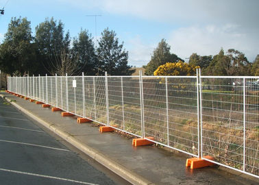 Galvanized Construction Site Fencing with infilled Welded Mesh 60 X 150 X 3MM