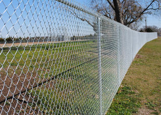 Metal Mesh Fence 6 ft x 50 ft 11.5 Gauge PVC Coated Steel Aluminium Alloy Wire