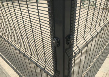 Green Color 358 Anti Climb Fence Prison Mesh For Garden Fence