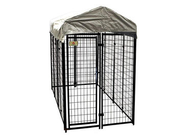 8'L X 4'W X 6'H Modular Dog Kennels Heavy Duty Playpen Roof Water Resistant Cover