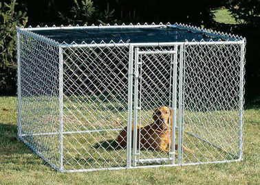 Dog Kennel Chain Link Fence Panels 13 X 13 X 6 / 10 X 10 X 6 ETC